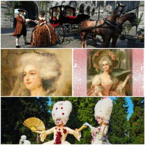 Hair care through ages, 18th Century