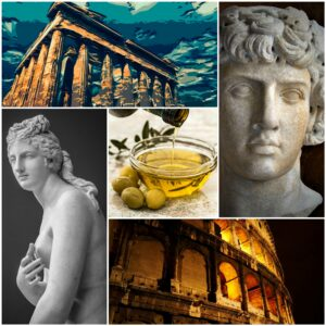 Hair care through ages, Greece and Roman Empire