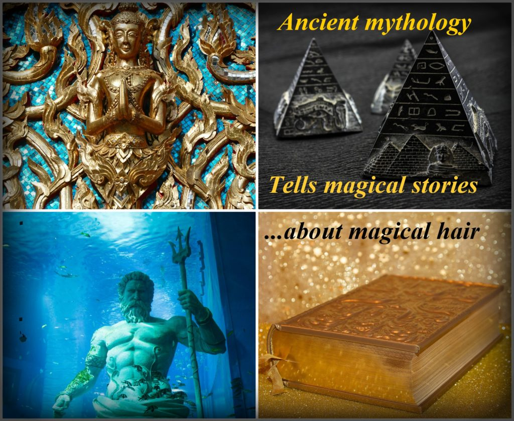 Ancient mythology about magical hair