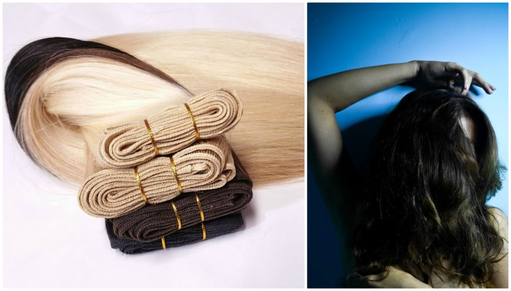 Hair strengthening or using extensions