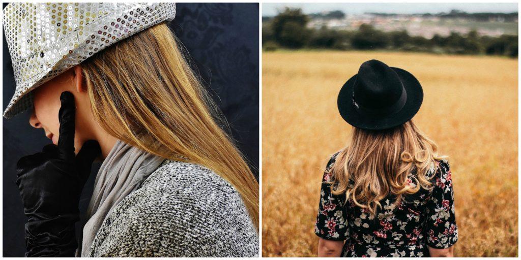 Warm blond hair colour