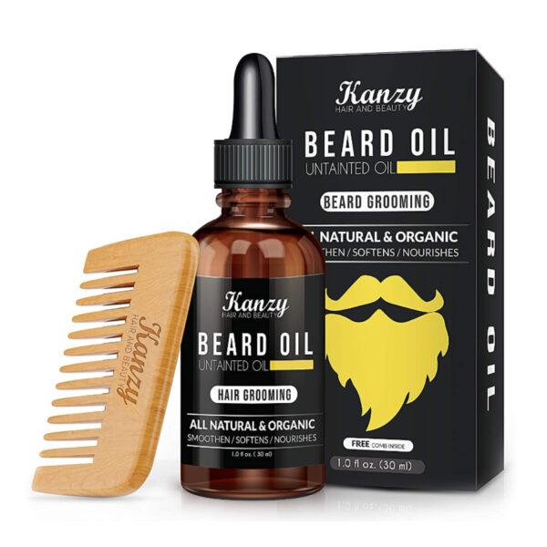 Kanzy Beard Oil Grooming Kit for Men.